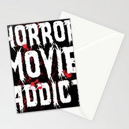 Horror Movie Addict - Halloween gift idea fun Stationery Cards