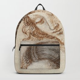 Leonardo da Vinci - Head of Leda Backpack