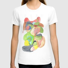 Life and Meaning 11| Abstract Watercolors T-shirt