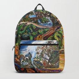 Chaim Soutine - The big blue tree - Digital Remastered Edition Backpack