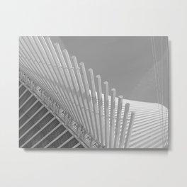 Milwaukee II by CALATRAVA Architect Metal Print