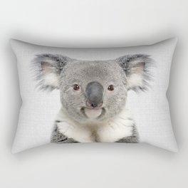 Koala 2 - Colorful Rectangular Pillow
