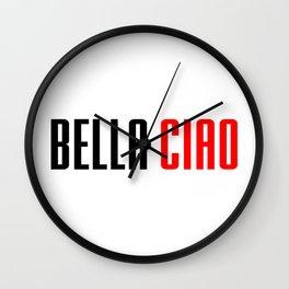 Money heist Bella Ciao Wall Clock
