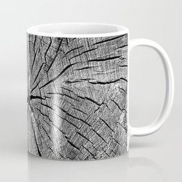 Weathered Old Wood Texture Coffee Mug