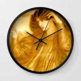 "Dante Gabriel Rossetti ""The Women of the Flame"" Wall Clock"