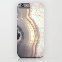Taupe Agate iPhone Case