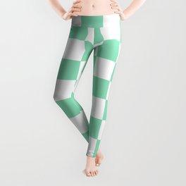 Checkered (Mint & White Pattern) Leggings