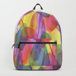 Watercolour Texture  Backpack