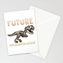Future Paleontologist - Dinosaur T-Shirt Stationery Cards
