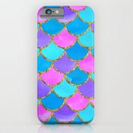 Mermaid Scales | Purple iPhone Case
