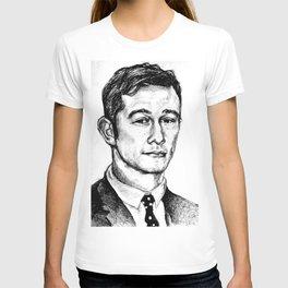 Joseph Gordon-Levitt drawing T-shirt