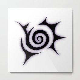 Meliodas Demon V.1 Metal Print