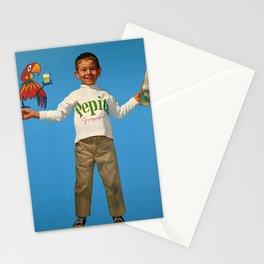pepita grapfuit  enfant vintage Poster Stationery Cards
