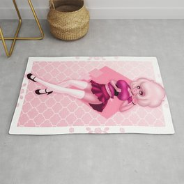 So Pink Diamond Rug