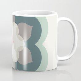 Modern Bloom in Ivory and Sage Coffee Mug