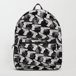 Gun Pattern Backpack