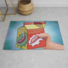 Drinkable Sausage Rug