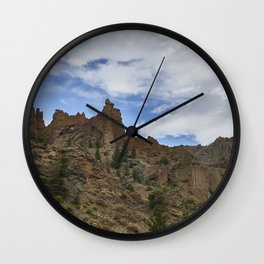 Wyoming 01 Wall Clock