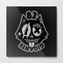 CAT BASTARD Metal Print