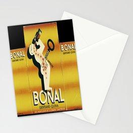 poster bonal gentiane quina des montagnes Stationery Cards