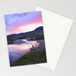 Sunset at Kungsleden Stationery Cards