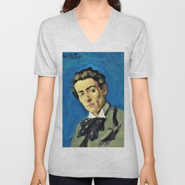 Pablo Picasso - Portrait of Renart - Digital Remastered Edition Unisex V-Neck