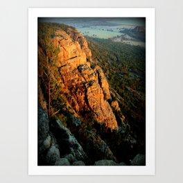 Mt.Arapiles Art Print