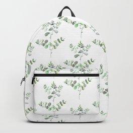 Watercolor Eucalyptus Backpack