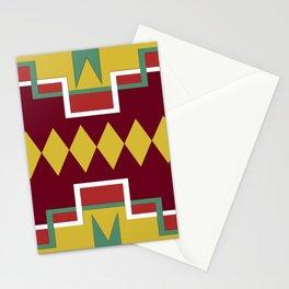 Native pattern Stationery Cards