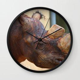 Rhino Beauty Wall Clock