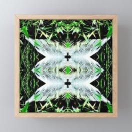 Feathers 2 Framed Mini Art Print