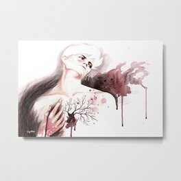 Judas Kiss Metal Print