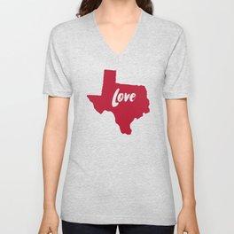 Texas Love Unisex V-Neck