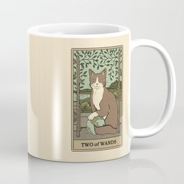 Two of Wands Coffee Mug