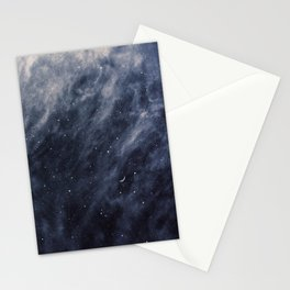 Blue Clouds, Blue Moon Stationery Cards