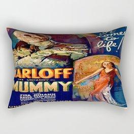 Vintage poster - The Mummy Rectangular Pillow