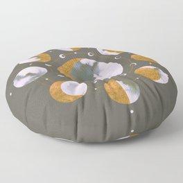 Lunar Dark Floor Pillow