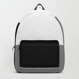 Trio Shades, Black White & Gray Backpack