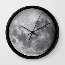 The Southern Hemisphere Moon Wall Clock