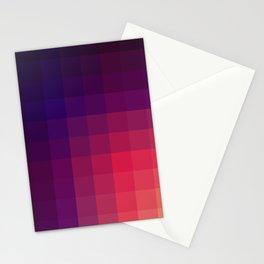 Pink Color Gradint Pattern Valravn Stationery Cards
