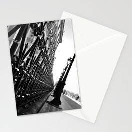 Paris, black and white Stationery Cards