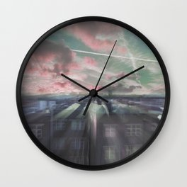 THE ELEVATION MEDITATION Wall Clock