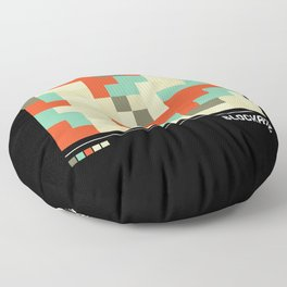 Camouflage Modernist Floor Pillow