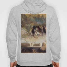 Ballet At The Paris Op Ra 1877 78 By Edgar Degas | Reproduction | Famous French Painter Hoody