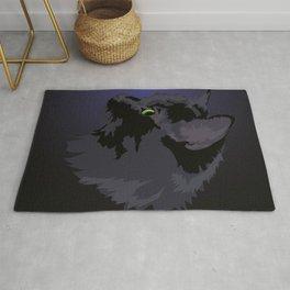 Black Cat Magic Rug