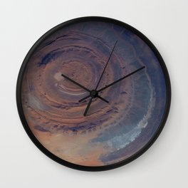 eye in the sky, eye in the desert | space 001 Wall Clock