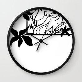 Octo Tee Shirt Wall Clock