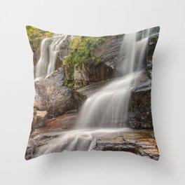 Shelving Rock Falls Throw Pillow