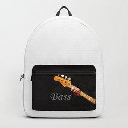 Bass Guitar neck , musical instrument  Backpack