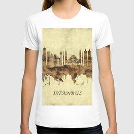 Istanbul Turkey Cityscape T-shirt